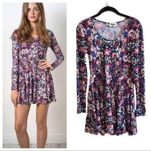 Show Me Your Mumu floral Stevie babydoll dress